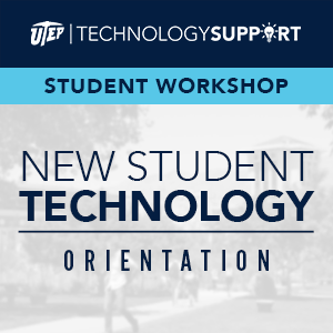 UTEP Student Technology Services